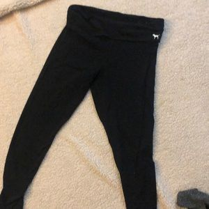 Pink Victoria secret yoga pants